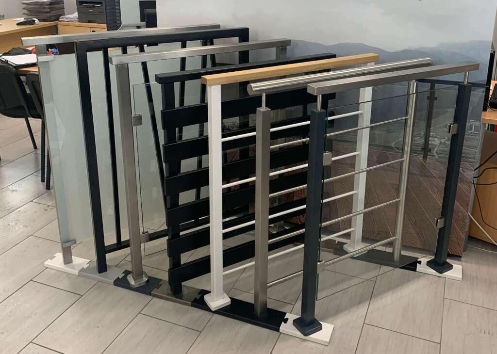wzory balustrad balkonowych i schodowych