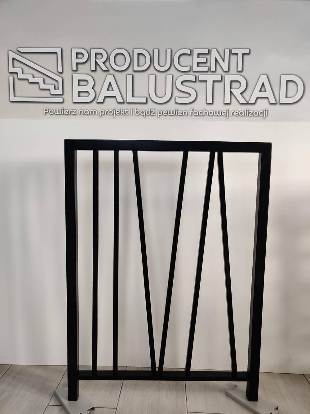 balustrada metalowa